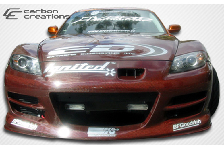 2005 Mazda RX-8 Carbon Creations GT Competition Bumper (Front)