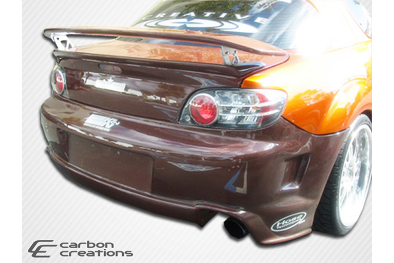 2005 Mazda RX-8 Carbon Creations GT Competition Bumper (Rear)