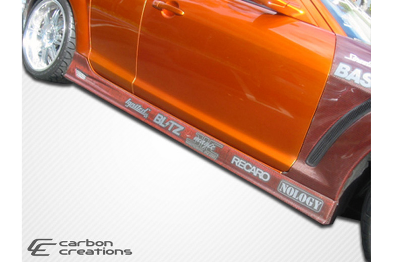 2005 Mazda RX-8 Carbon Creations GT Competition Sideskirts
