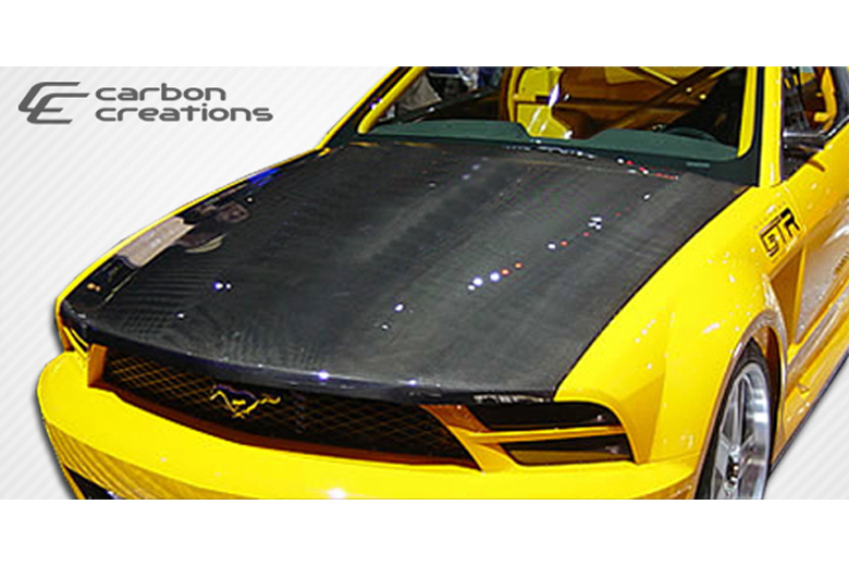 2005 Ford Mustang Carbon Creations Hood