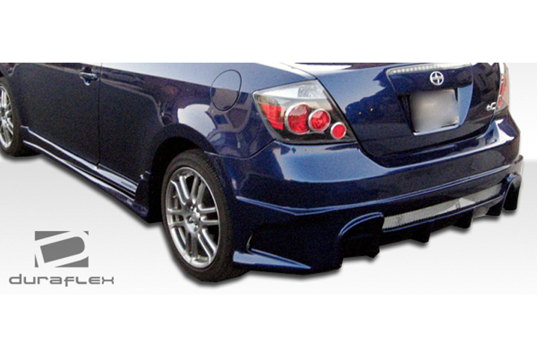 duraflex scion tc 2005 2010 raven rear bumper. Black Bedroom Furniture Sets. Home Design Ideas