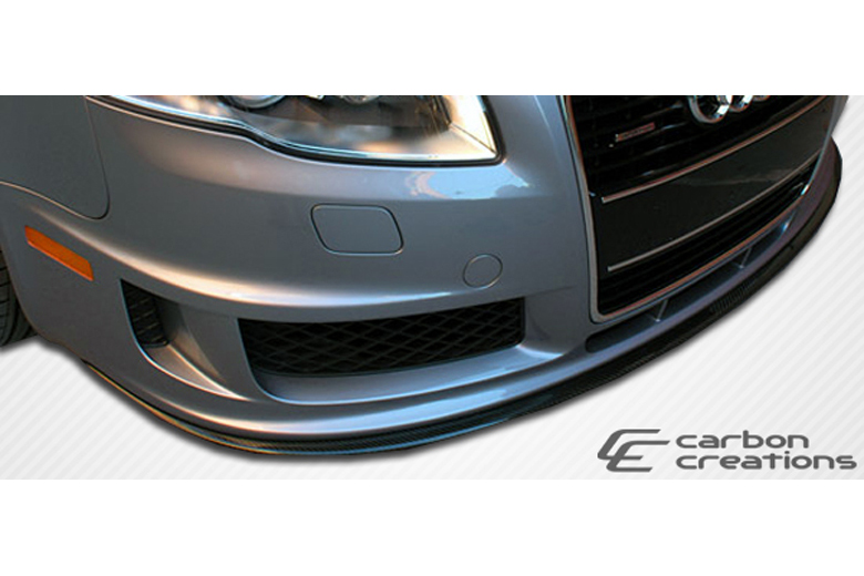 2008 Audi A4 Carbon Creations DTM Front Lip (Add On)