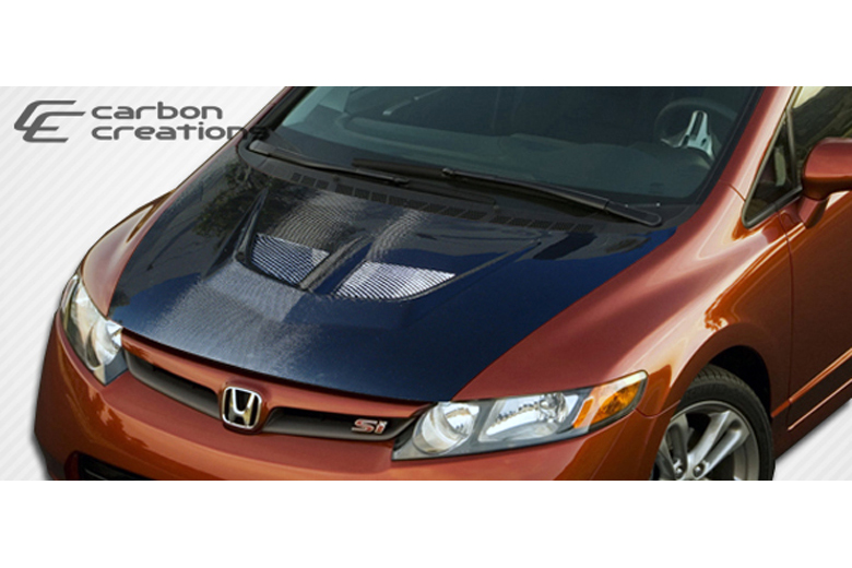 2007 Honda Civic Carbon Creations Evo Hood