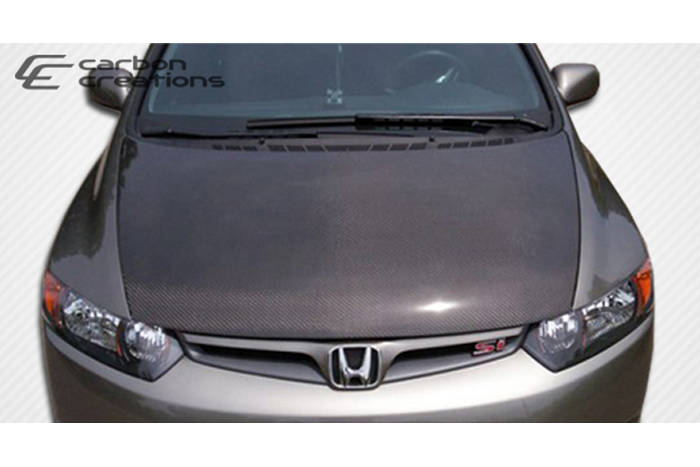 2007 Honda Civic Carbon Creations Hood