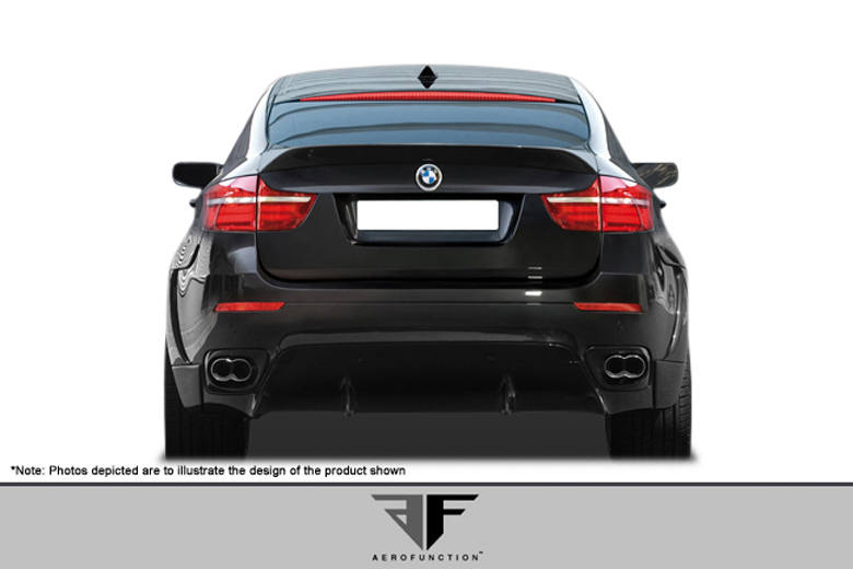 2009 BMW X6 Aero Function AF-1 Rear Lip (Add On)