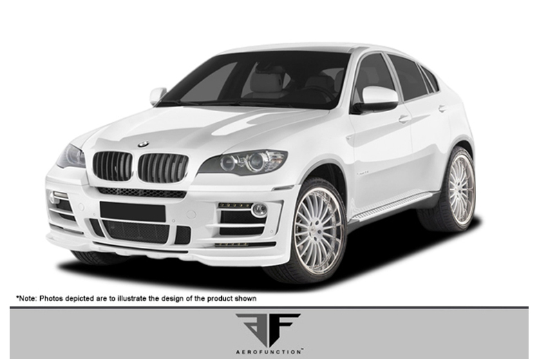 2009 BMW X6 Aero Function AF-2 Body Kit