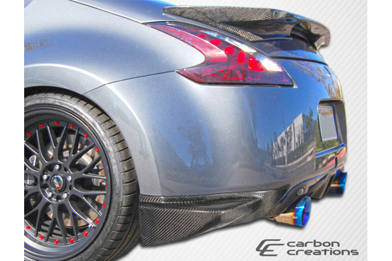 2010 Nissan 370Z Carbon Creations N-1 Rear Lip (Add On)