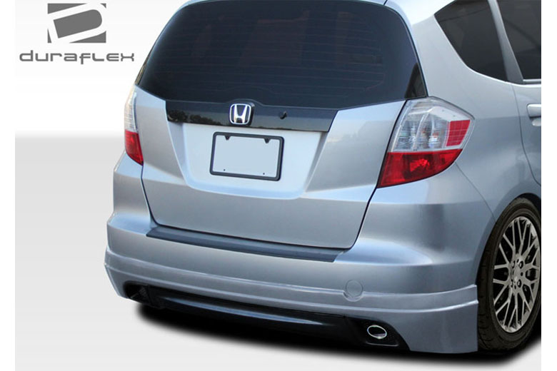 2011 Honda Fit Duraflex Type M Rear Lip (Add On)