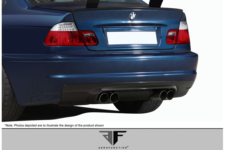 2005 BMW M-Series Aero Function AF-1 Rear Lip (Add On)