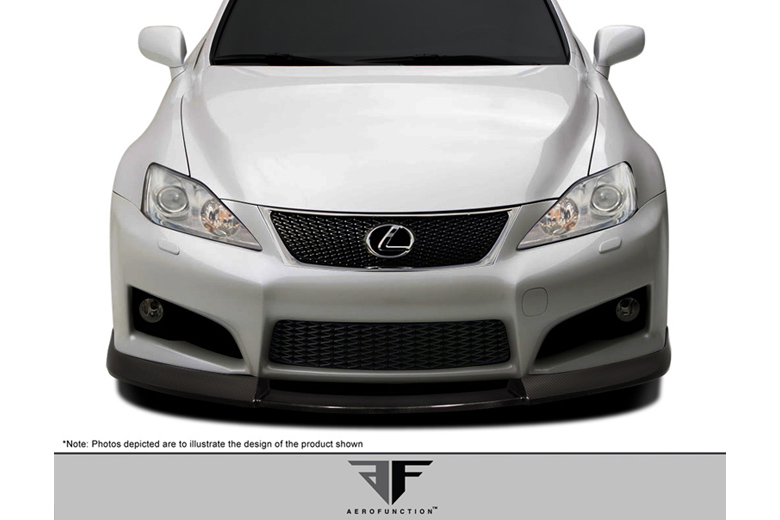 2013 Lexus IS Aero Function AF-1 Front Lip (Add On)