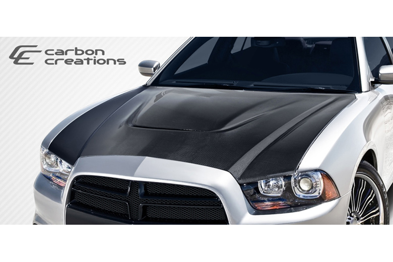 2013 Dodge Charger Carbon Creations SRT Look Hood