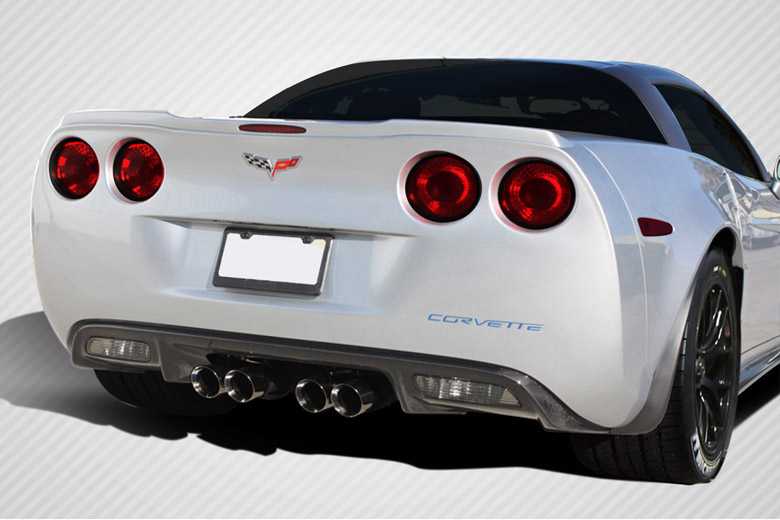2005 Chevrolet Corvette Carbon Creations ZR Edition Rear Lip (Add On)