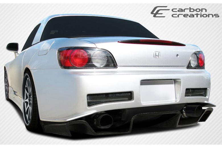 2002 Honda S2000 Carbon Creations SP-N Rear Lip (Add On)