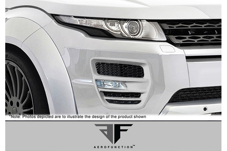 2012 Land Rover Evoque Aero Function AF-1 Fiberglass Light Housings