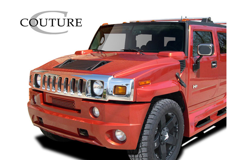 2006 Hummer H2 Couture Vortex Front Lip (Add On)