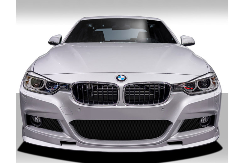 2014 BMW 3-Series Duraflex Eros Version 1 Front Lip (Add On)