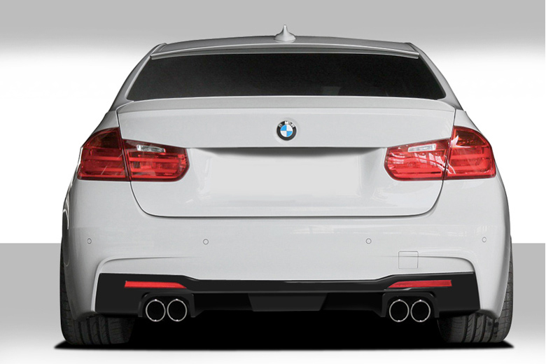 2014 BMW 3-Series Duraflex Eros Version 1 Rear Lip (Add On)
