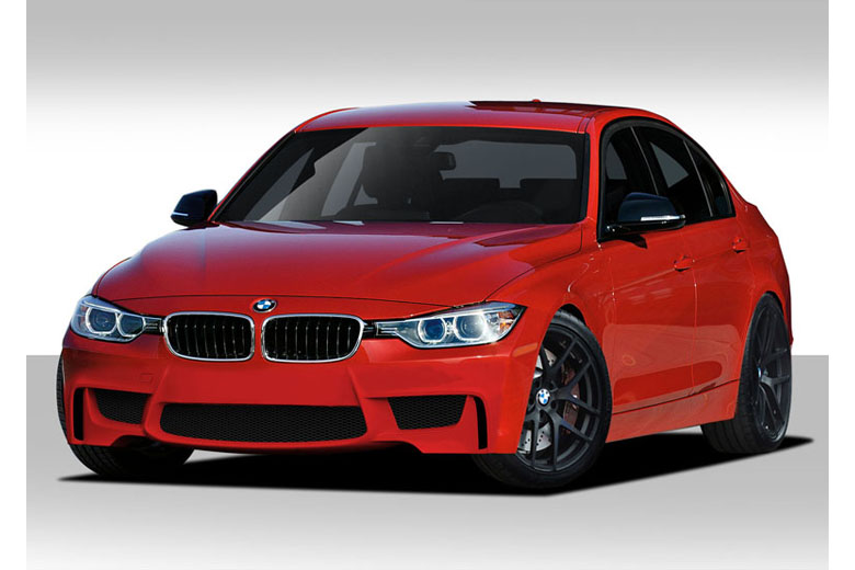 2014 BMW 3-Series Duraflex 1M Look Body Kit