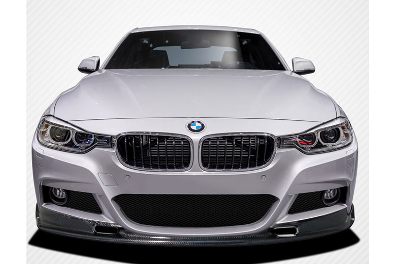 2014 BMW 3-Series Carbon Creations Eros Version 1 Front Lip (Add On)