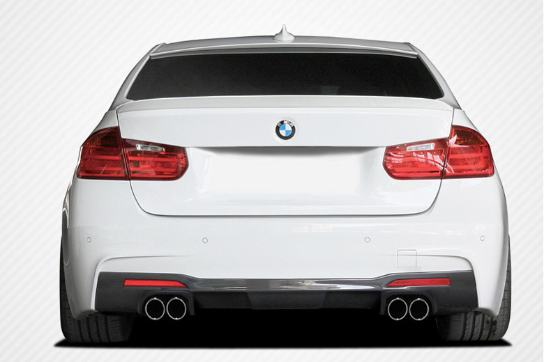 2014 BMW 3-Series Carbon Creations Eros Version 1 Rear Lip (Add On)