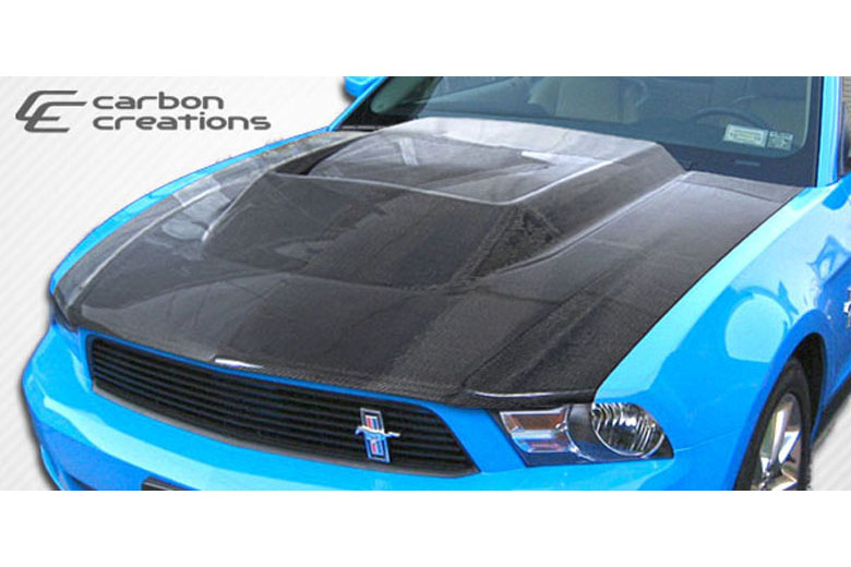 2011 Ford Mustang Carbon Creations Hot Wheels Hood