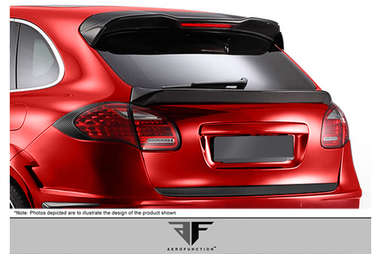 2013 Porsche Cayenne Aero Function AF-1 Taillamp Covers