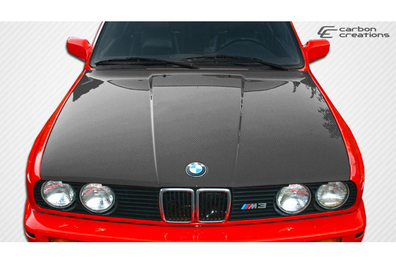 1987 BMW 3-Series Carbon Creations Hood