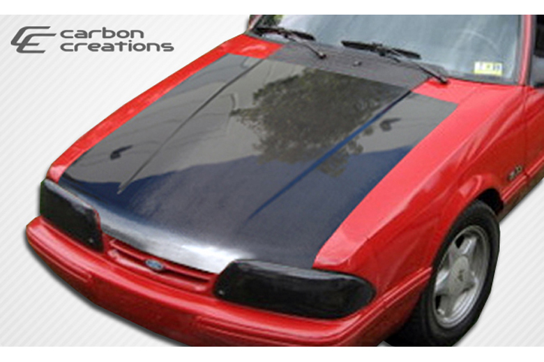 1990 Ford Mustang Carbon Creations Hood