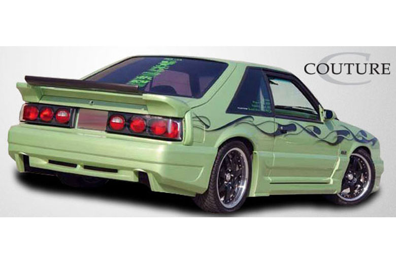 1990 Ford Mustang Couture Demon Bumper (Rear)