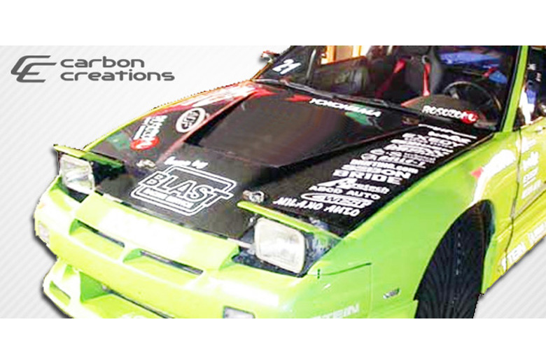1993 Nissan 240SX Carbon Creations Vader Hood