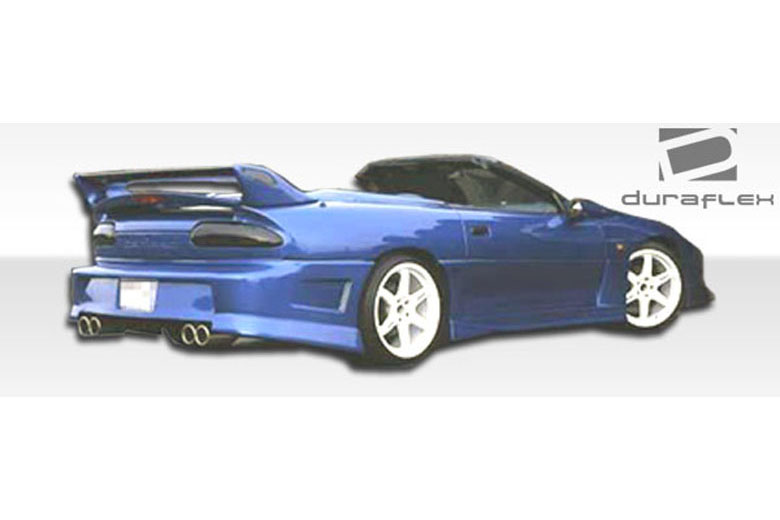 Duraflex chevrolet camaro 1993 2002 venice sideskirts for 2002 camaro window motor replacement
