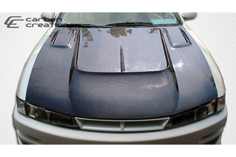 1998 Nissan 240SX Carbon Creations B-Road Hood
