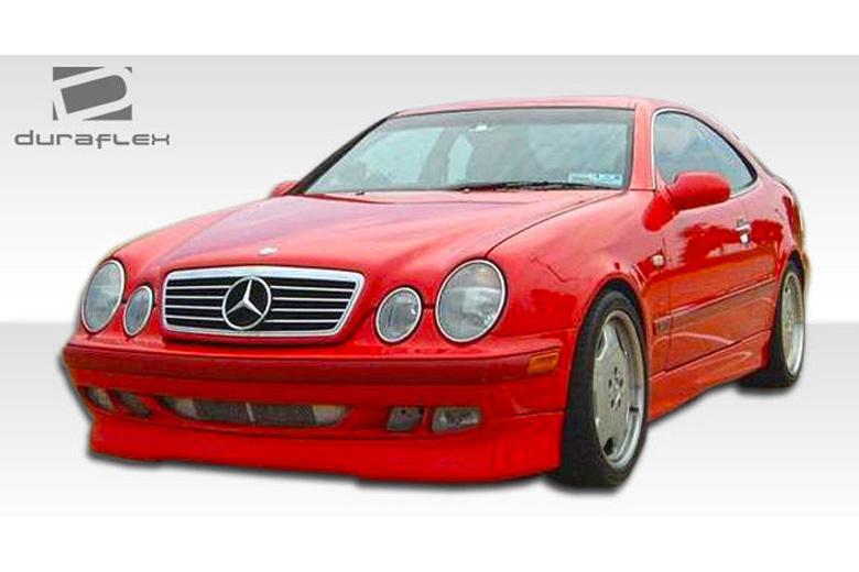 Duraflex mercedes clk class 1998 2002 r 1 body kit for Mercedes benz clk body kit