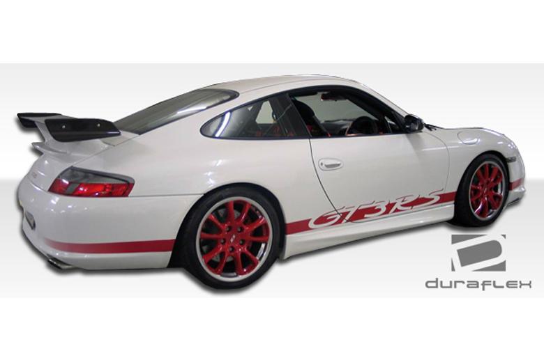 duraflex porsche 911 1999 2004 gt 3 rear bumper. Black Bedroom Furniture Sets. Home Design Ideas