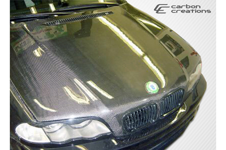 2004 BMW 3-Series Carbon Creations Hood