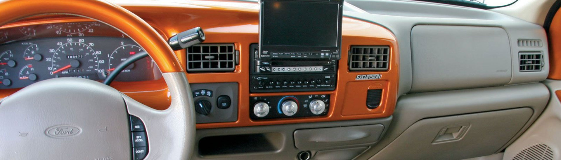 Ford Excursion Dash Kits on Dodge Ram Dash Installation