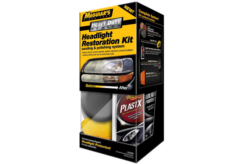 2013 Ford E-150 Meguiar%27s Headlight Restoration Kit