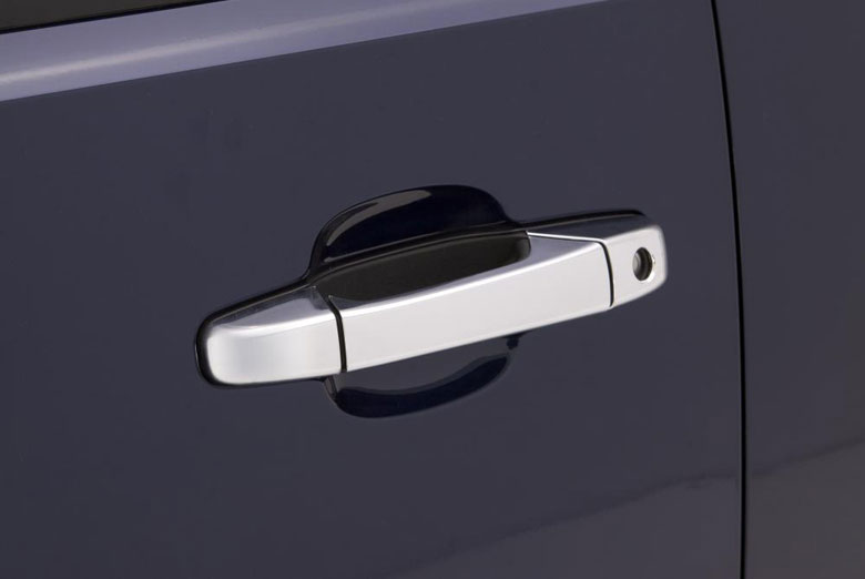 2002 Chevrolet Silverado Chrome Door Lever Covers (2 Door)