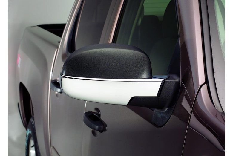 2002 Chevrolet Silverado Chrome Mirror Covers