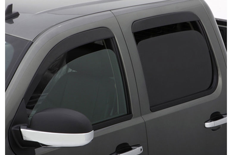 AVS Ventshade Stainless Front Window Visor Wind Deflectors