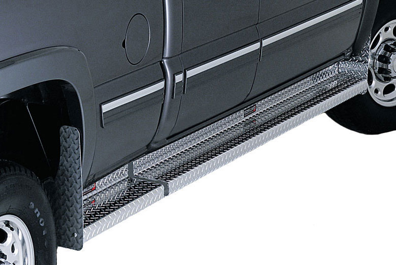 1996 Ford  E-150 Diamond Plate Challenger Running Boards