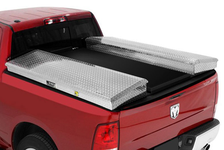 2003 Ford F-350 Contractor Box Black Complete Tonneau Cover System