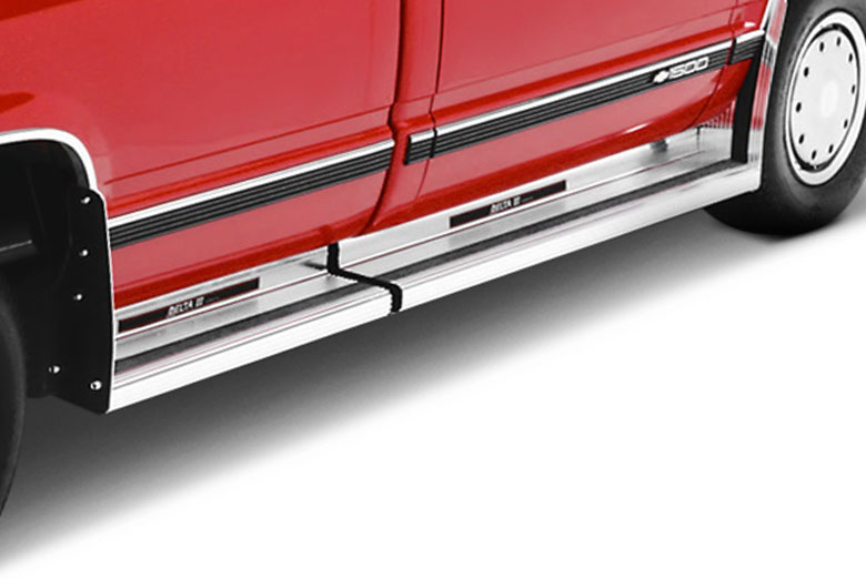 2002 Ford  E-Series Diamond Plate Delta III Running Boards