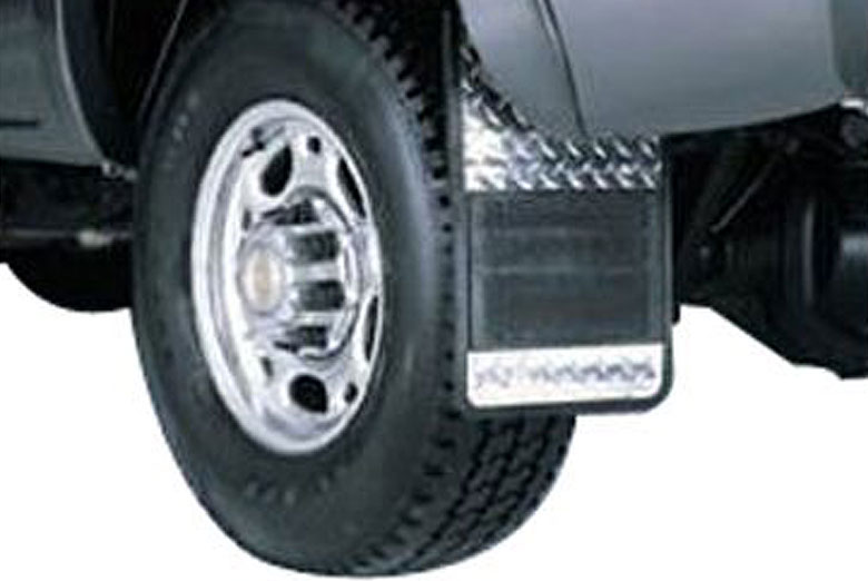 2000 Ford F-450 Diamond Plate Mud Flaps