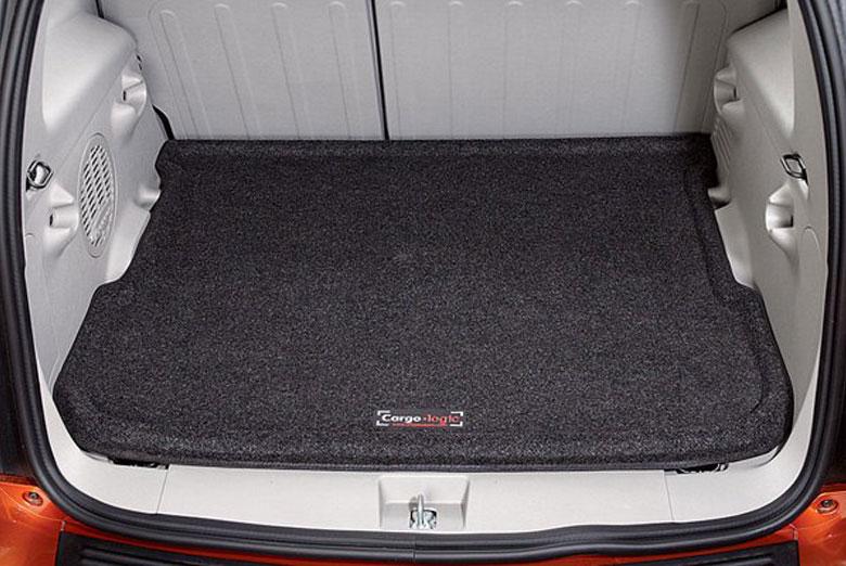 lund cargo logic toyota rav4 2006 2010 black cargo mat w o 3rd row seats. Black Bedroom Furniture Sets. Home Design Ideas