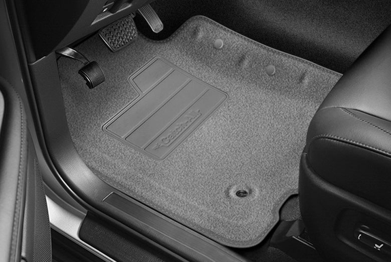 2005 Chevrolet Monte Carlo Catch-All Charcoal Front Floor Mats