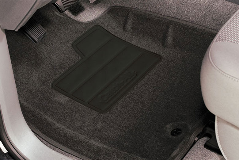 2006 Chevrolet Colorado Catch-All Pewter Front Floor Mats