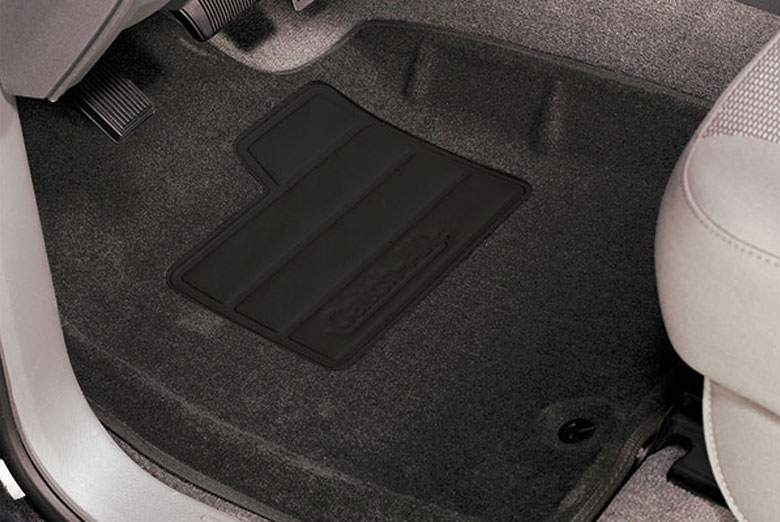 Lund Catch All Floor Mats Dark Slate on 2004 Dodge Dakota Leather