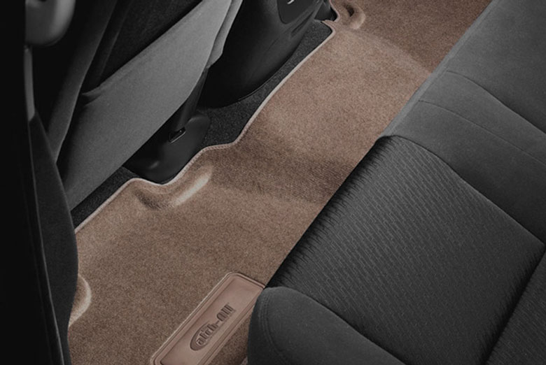 1997 Toyota Tacoma Catch-All Beige Second Row Floor Mats