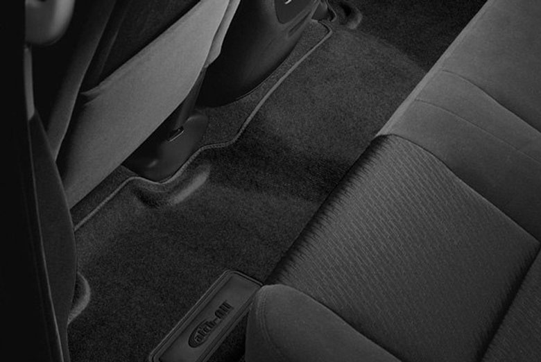 2007 Jeep Grand Cherokee Catch-All Black Second Row Floor Mats